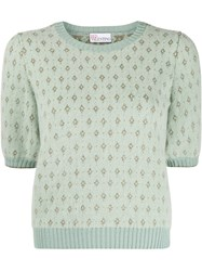 Red Valentino Jacquard Knitted Top 60