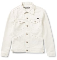 Tom Ford Selvedge Denim Jacket Neutral