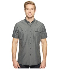 Kuhl Airspeedtm Short Sleeve Top Carbon Short Sleeve Button Up Gray