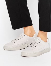 G Star Thec Low Grey Trainers Gs Grey Textile