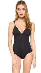 L Space Maio Bella One Piece Black