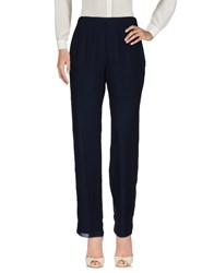 Musani Couture Casual Pants Dark Blue