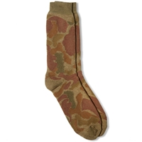 Anonymous Ism Leaf Camo Pile Crew Sock Olive