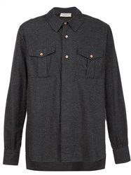 Faith Connexion Flannel Shirt Black