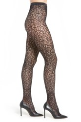 Wolford Lace Tights Black