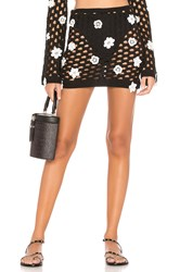 Lovers Friends Flower Power Skirt Black