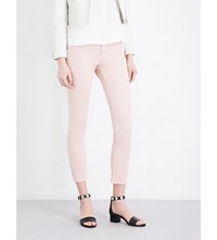 Claudie Pierlot Pam High Rise Skinny Jeans Rose Pale