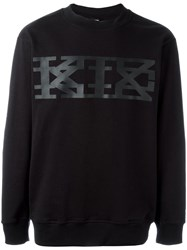 Ktz Big Logo Sweatshirt Black