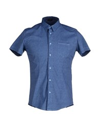 Yoon Shirts Shirts Men Slate Blue
