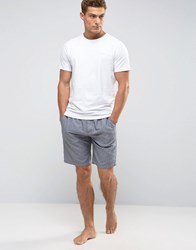 Ted Baker T Shirt And Lounge Shorts Set Grey