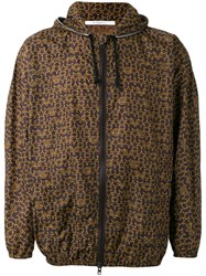 Givenchy Logo Print Lightweight Jacket Brown