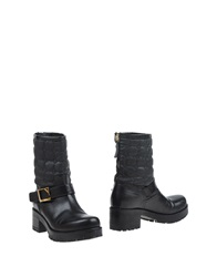 Atos Lombardini Ankle Boots Black