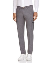 Eleventy Slim Fit Cargo Pants Med Grey