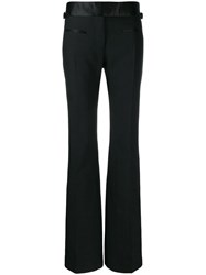 Tom Ford Flared Tailored Trousers Black
