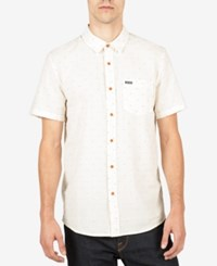 Volcom Men's Thurston Shirt Egg White