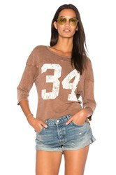 Project Social T 34 Tee Brown