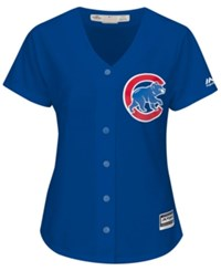 Majestic Women's Chicago Cubs Cool Base Jersey Royalblue