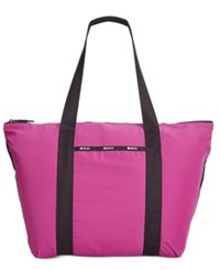 Le Sport Sac Lesportsac Large On The Go Tote Wild Berry