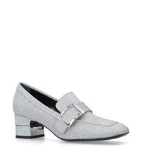 Roger Vivier Podium Loafers 50 Silver