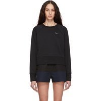 Nike Black Training Sweatshirt