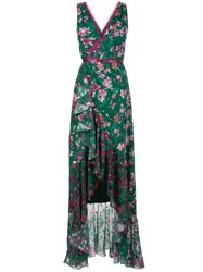 Marchesa Notte Floral Patterned Cocktail Dress 60