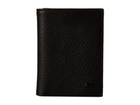 Will Leather Goods Cyrus Card Case Black Credit Card Wallet