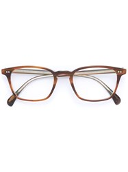 Oliver Peoples Tolland Glasses Men Acetate 51 Brown