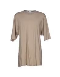 Mnml Couture T Shirts Beige