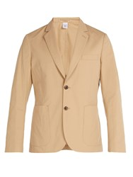 Paul Smith Single Breasted Cotton Jacket Beige