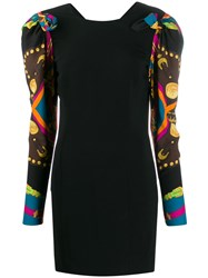 Versace Scarf Sleeve Dress 60