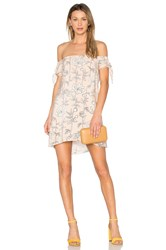 Amanda Uprichard Desiree Mini Dress Blush
