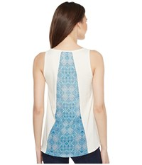 Stetson 0910 Rayon Jersey Loose Fit Tank Top White Women's Sleeveless