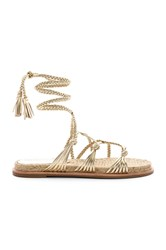 Sigerson Morrison James Sandal Metallic Gold