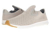 Native Apollo Moc Pigeon Grey Shell White Natural Rubber 2 Shoes Gray