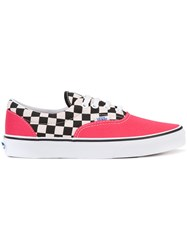 Vans Checked Sneakers Red