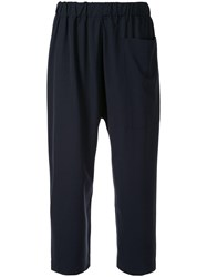 Sofie D'hoore Cropped Trousers Black