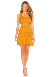 Style Stalker Solana A Line Dress Yellow