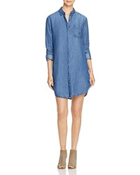 Andrea Jovine Chambray Shirt Dress Compare At 98 Blue Wash