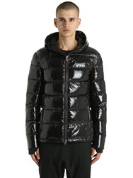 Invicta Glossy Nylon Down Jacket Black