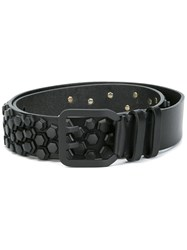 Dsquared2 Embellished Belt Black