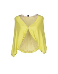 1 One Cardigans Light Yellow