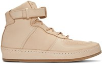 Hender Scheme Beige Manual Industrial Products 01 Sneakers