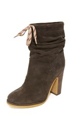 See By Chloe Jona Tall Booties Asfalto