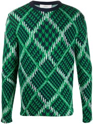 Pringle Of Scotland Argyle Check Jumper 60