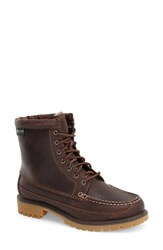 Women's Eastland 'Charlie' Lace Up Lug Boot Brown