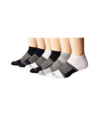 Steve Madden 6 Pack Low Cut Arch Support 1 2 Cushion Black 1 Men's Low Cut Socks Shoes