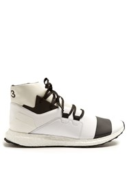 Y 3 Boost Kozoko High Top Trainers White Multi