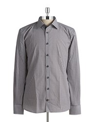 Pure Abstract Sportshirt Grey