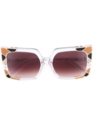 Pared Eyewear Sun And Shade Sunglasses Women Plastic One Size Nude Neutrals