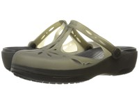 Crocs Carlie Cutout Clog Black Black Women's Clog Shoes